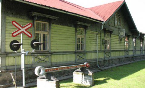 Латвийский железнодорожный музей, экспозиция Елгавы