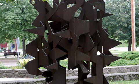 Skulptūra Alberta laukumā