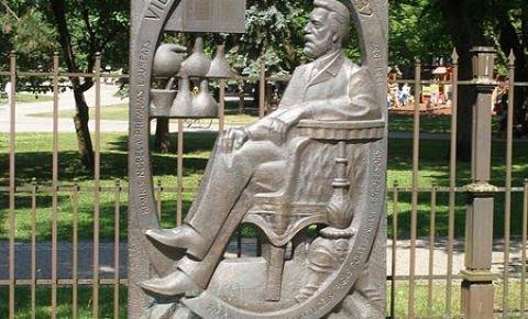Vilhelma Ostvalda piemineklis
