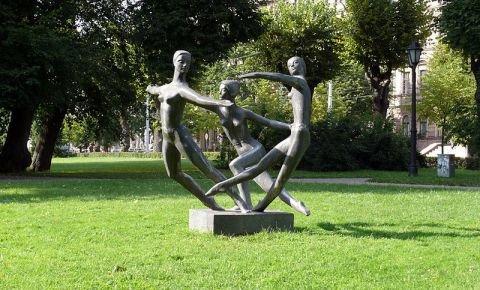 """Skulptūra """"Miera deja"""""""