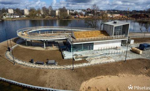 Atsākušies būvdarbi Rēzeknes Kovšu ezera projektā