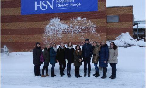 Daugavpils Universitātes studējošie studēs arī Norvēģijā