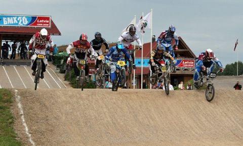 Трасса BMX