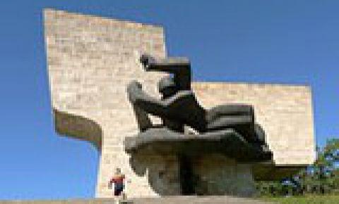 Мемориал Братского кладбища павшим воинам во Второй мировой войне