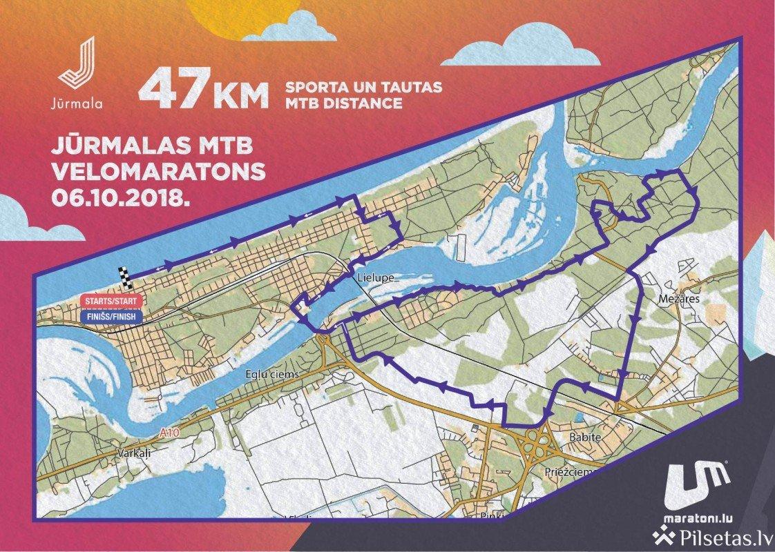 Jūrmalas MTB velomaratona laikā pilsētā noteikti būtiski satiksmes ierobežojumi