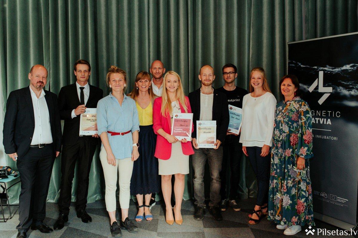 Zināmi konkursa Creative Business Cup nacionālie finālisti