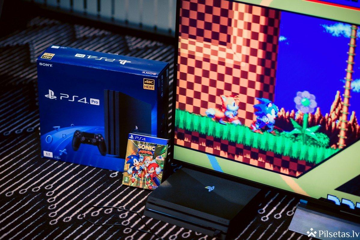 Pašmāju video spēļu entuziasti izklaidējas īpašā PlayStation x Sonic spēļu turnīrā