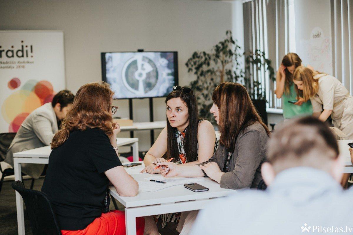 Rīgā gaidāms noslēdzošais Radošās darbības nedēļas radi!2018 dizaina domāšanas seminārs