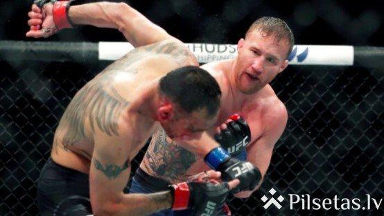 Habibs pret Geičī: Bukmeikeri prognozē cīņu par UFC čempiona titulu