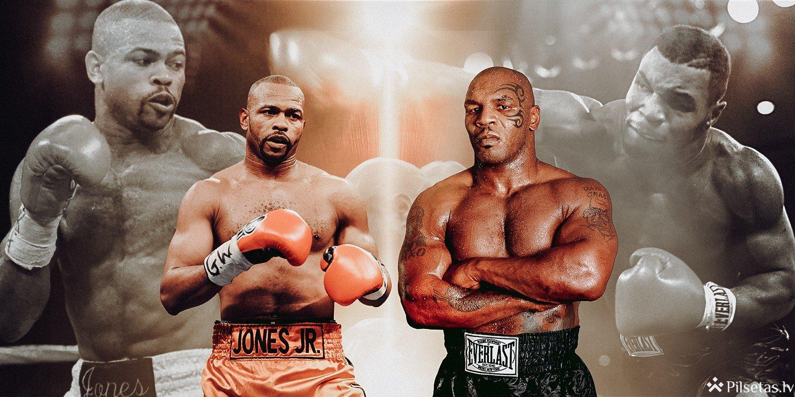 Taisons pret Džounsu: bukmeikeri prognozē boksa zvaigžņu cīņas čempionu