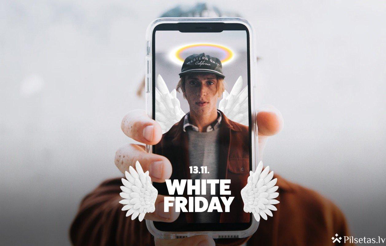 Aicina sabiedrību iesaistīties labdarības akcijā #WhiteFriday