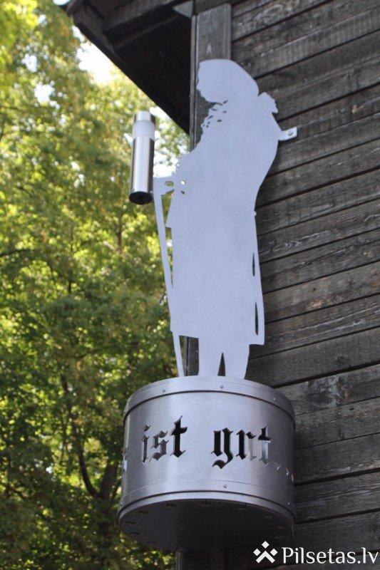 Piemiņas zīme slavenajam vācu filozofam Imanuelam Kantam