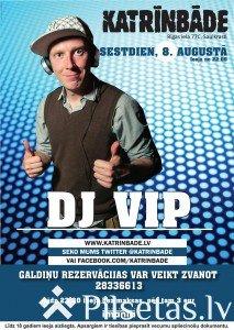 """DJ VIP mūzikas klubā """"Katrīnbāde"""""""