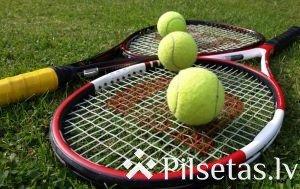 """Ludzas kausa izcīņa tenisā Ludzas pilsētas stadionā """"Vārpa"""""""