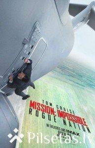 """Filma """"Neiespējamā misija: Slepenā nācija"""" kinoteātrī """"Vidzeme"""""""