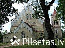 Baznīckalns un Sv. Jāņa luterāņu baznīca