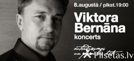 Viktora Bernāna koncerts Līvānu novada Kultūras centrā