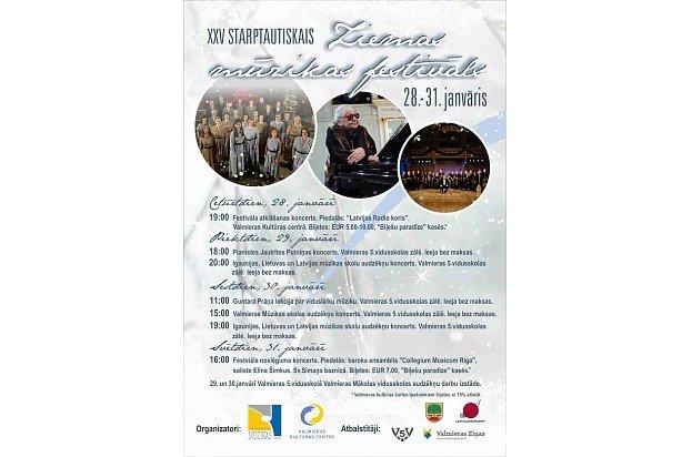 XXV Starptautiskā Ziemas mūzikas festivāls