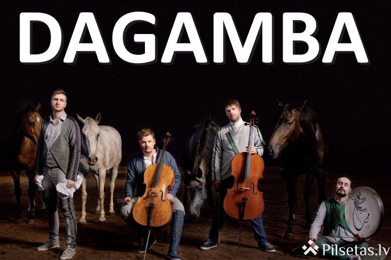 "Grupas DAGAMBA koncerttūre ""Bach goes to Iran"""