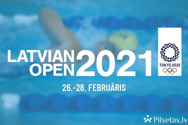 """OS kvalifikācijas sacensības """"Latvian Open 2021"""" pulcē peldēšanas zvaigznes."""