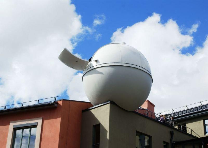 Ventspils Jaunrades nams ar planetāriju un observatoriju