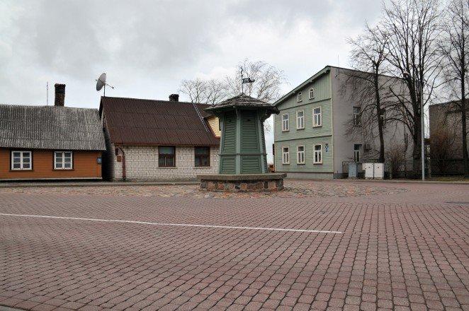 Площадь колодца источника