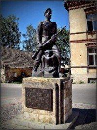 Памятник Полка Школькой роты в Цесисе