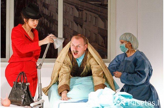 """Daugavpils teātra izrāde """"Biznesa klases palāta"""" Jelgavas Kultūras namā"""