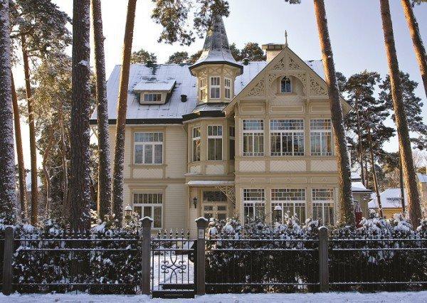 Жилой дом на улице Юрас