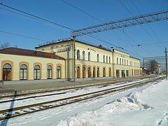 Станция Елгавы