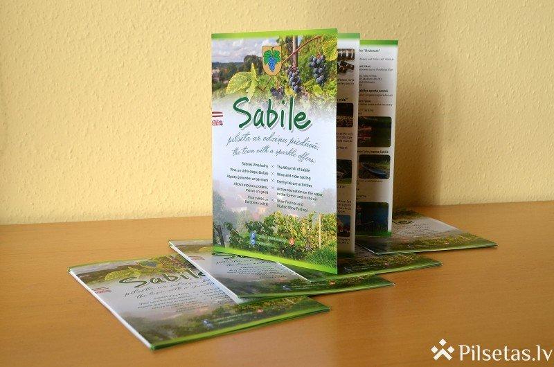 Sabilei izdots 2019. gada tūrisma ceļvedis