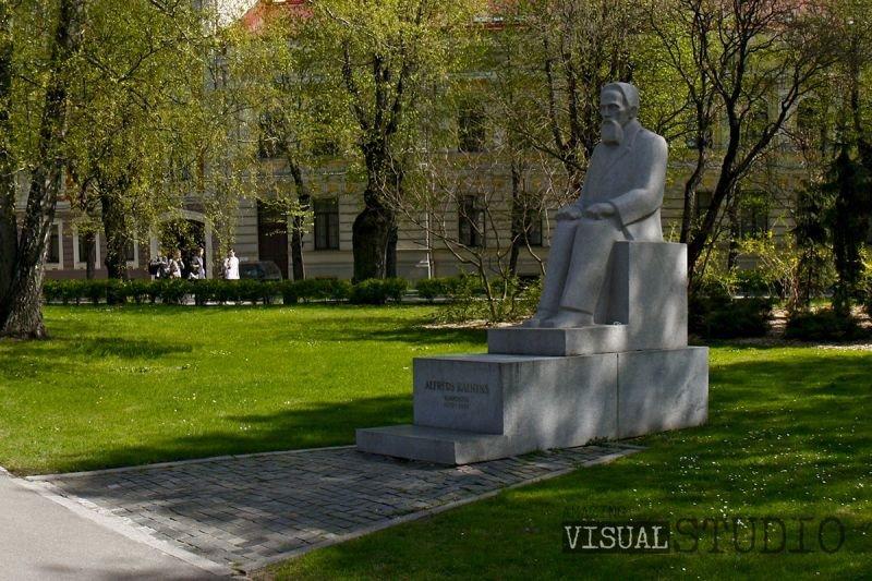 Piemineklis komponistam Alfrēdam Kalniņam