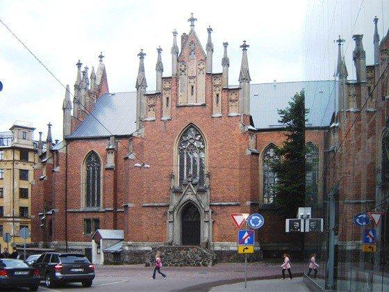 Старая Гертрудская церковь