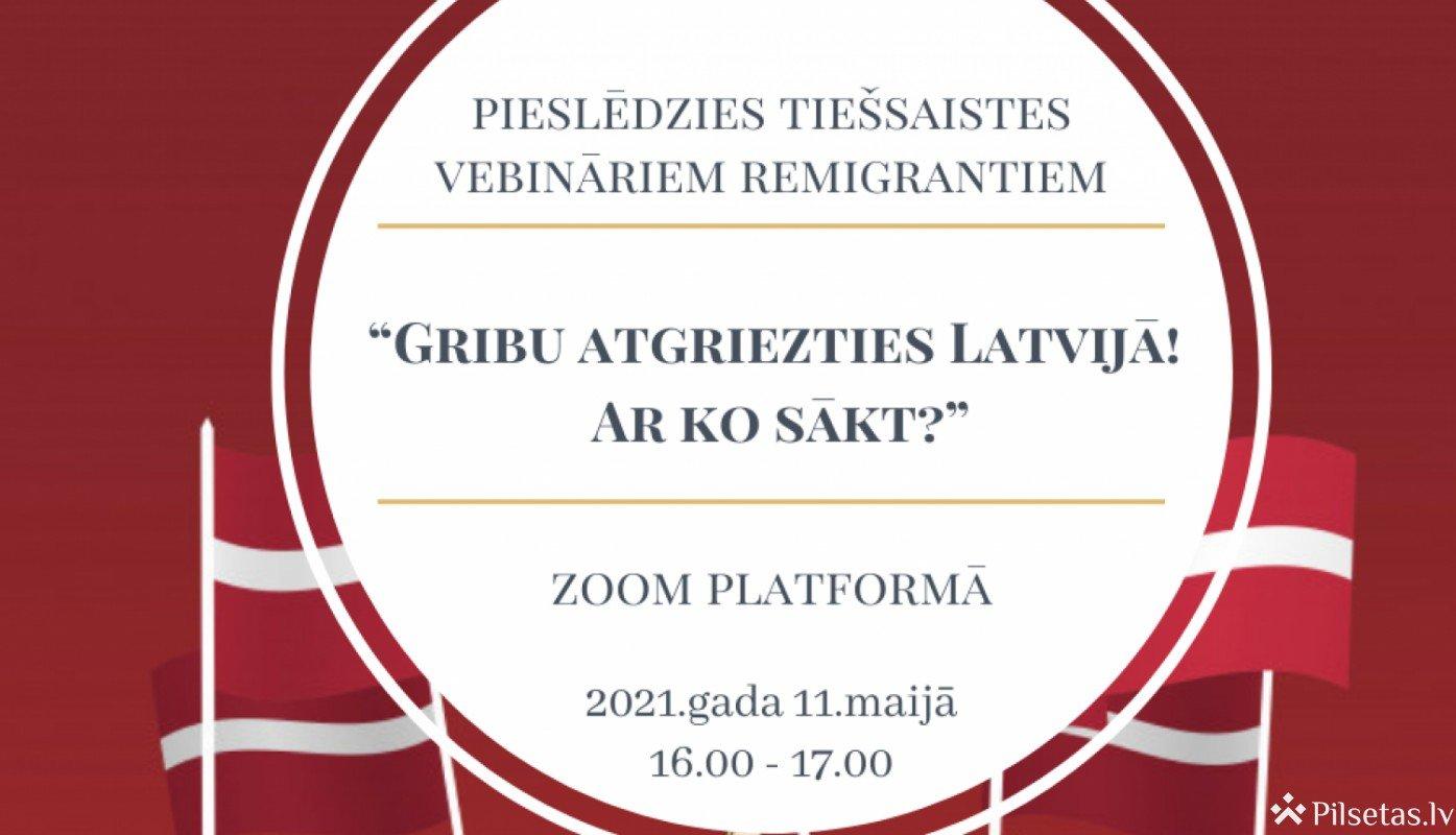 Ja dzīvojat ārvalstī, bet vēlaties atgriezties Latvijā, piedalieties NVA EURES vebinārā
