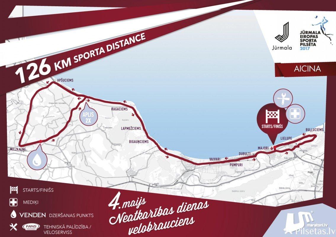 Neatkarības dienas velobrauciena laikā Jūrmalā noteikti satiksmes ierobežojumi