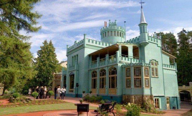 Ботанический сад и дача К. Морберга