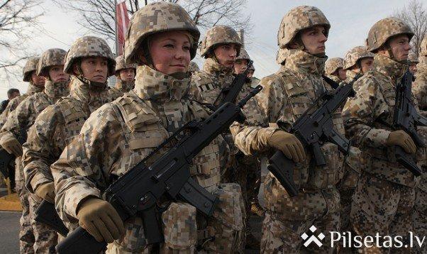 Dienestu bruņotajos spēkos sāks 30 karavīru