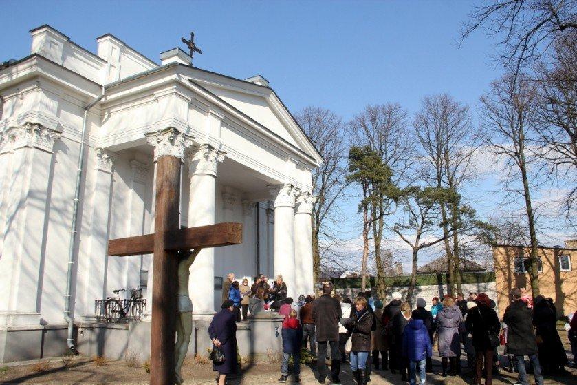 Римская католическая церковь Св. креста в Венстпилсе