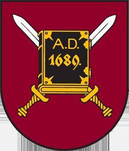 Алуксне герб