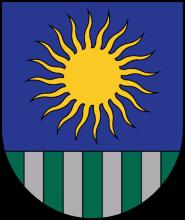 Область Саулкрасты герб
